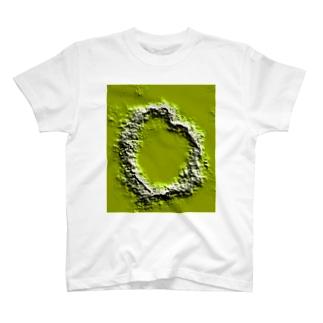 ハート型クレーターのつもり T-shirts