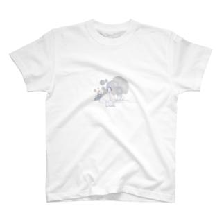 ココシバ×MegumiOno T-shirts