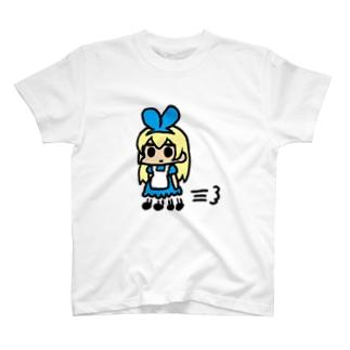 カサカサアリス T-shirts