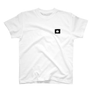 ワンポイントかお。 T-shirts