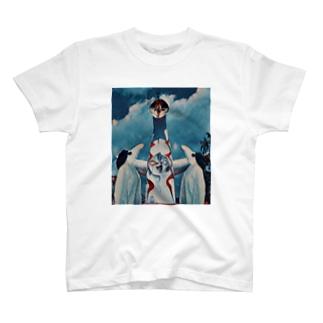 鳥人間 in Osaka T-shirts