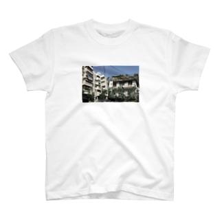 台湾建物Tシャツ T-shirts