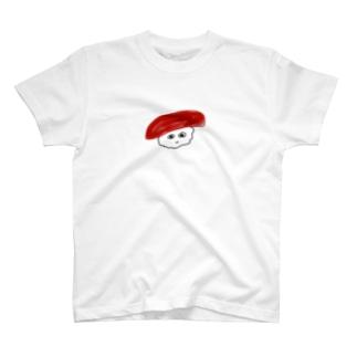泳がないマグロくん T-shirts