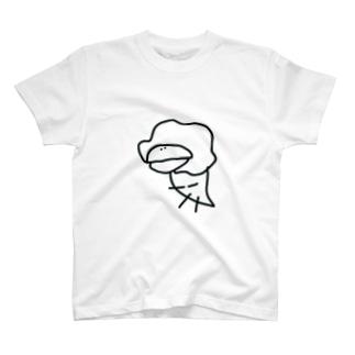 ともすけモノトーン T-shirts