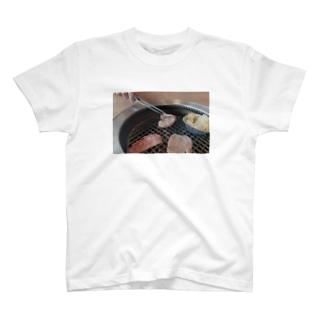 にく 肉 焼肉 ペア T-shirts