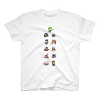 刹那初期全員集合T T-shirts
