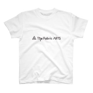 TheFabricARTSロゴ黒 T-shirts
