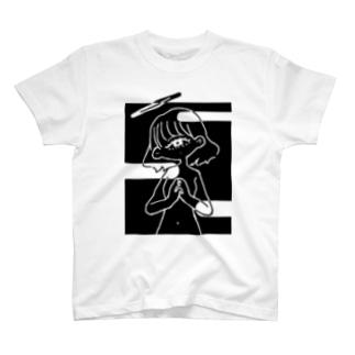 祈りを華を-影 T-shirts