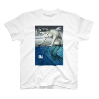 YUMA(未確認動物)ニンゲン T-shirts