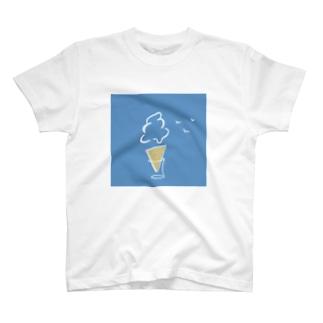 アイス雲 T-shirts