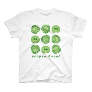 ecopen farm!(キャベツ) T-shirts