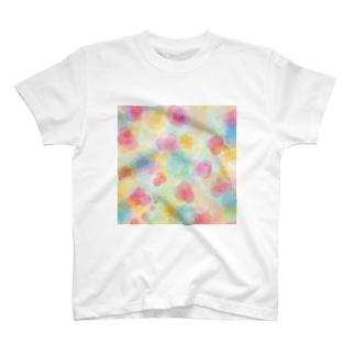 水彩混色「ありのまま」 T-shirts