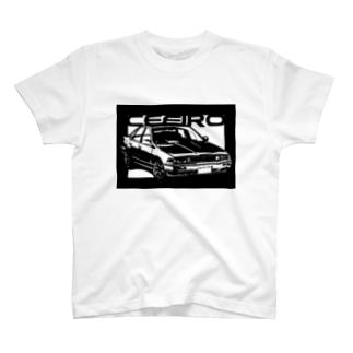 NISSAN セフィーロA31切り絵デザイン T-shirts