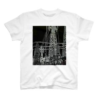 線画 T-shirts
