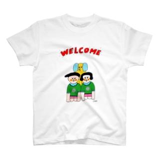 ウェルカム一家 T-shirts