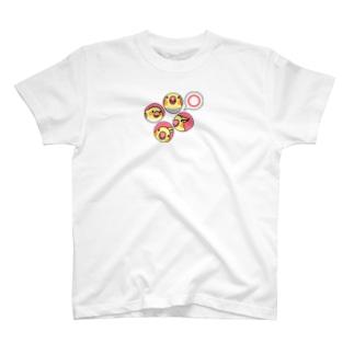 オカメインコまる〇【まめるりはことり】 T-shirts