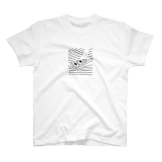 ひょっこりガール T-shirts