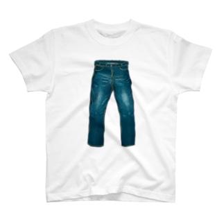 ジーンズのTシャツ(ノーダメージ) T-Shirt