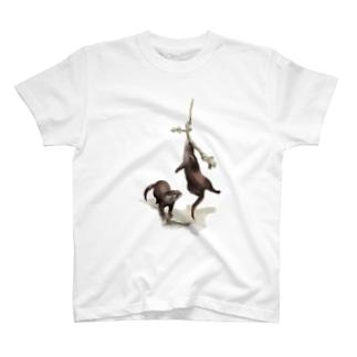 Animals シリーズ 〜コツメカワウソ〜 T-shirts