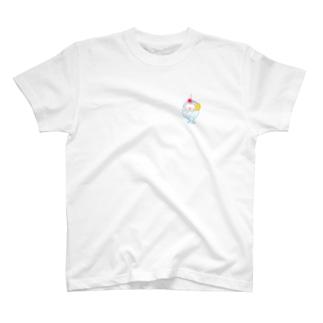 Pサマ!カキ氷しろくま T-shirts