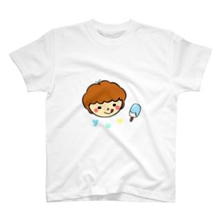 オリジナルイラスト1〜クリームソーダーver〜 T-shirts