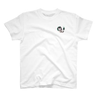 唐獅子にゃんこ T-shirts