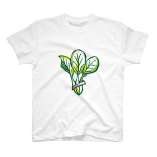 ホウレン草 T-shirts