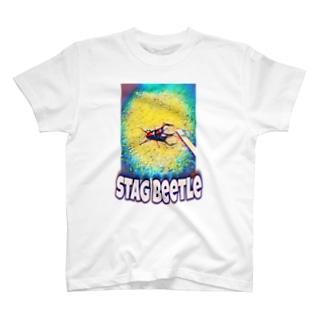 煙草とクワガタ。 T-shirts