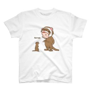 イタチ偽装 T-shirts