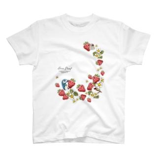 いちご畑 T-shirts