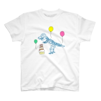 化石 to letter (7th birthday) T-shirts