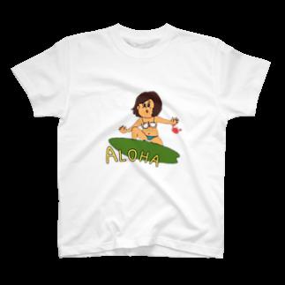 heidi1203の常夏ガール T-shirts