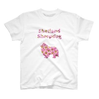 シェルティとデイジー T-shirts