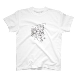 サイの洗い物 T-shirts