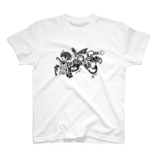 スチパンと悪魔と T-shirts