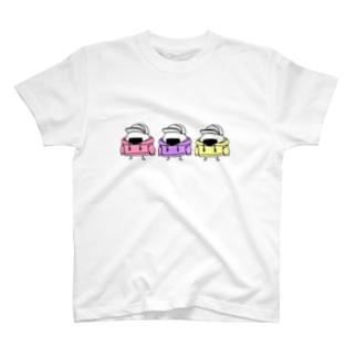 パーカー3おにぎり T-shirts