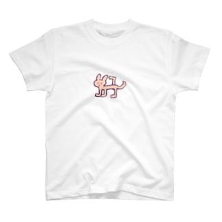 マーキングうさちゃん T-shirts