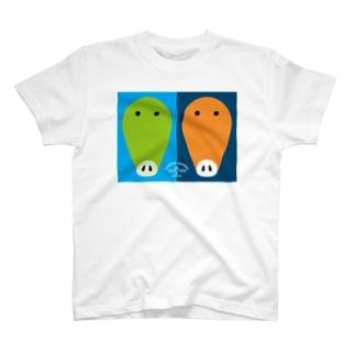 G-line #twinsT T-shirts