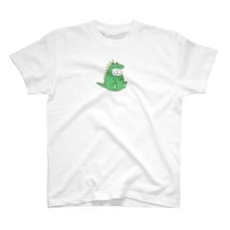 ねこタイツ かいじゅう T-shirts