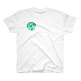 フラフープで地球をまわせ T-shirts