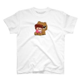 ちぃーちゃんとくま T-shirts