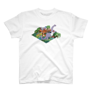 DINO'S PARADISE T-shirts