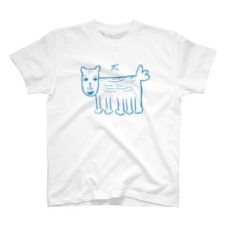 本田のいぬ T-shirts