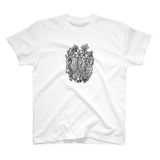 控えめに満開 T-shirts