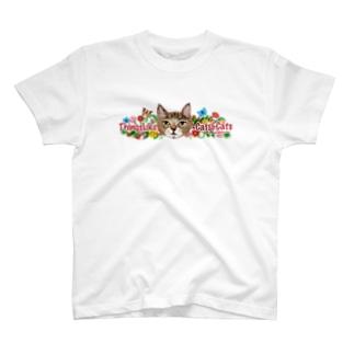 松山征シローのにゃんころグッズ T-shirts