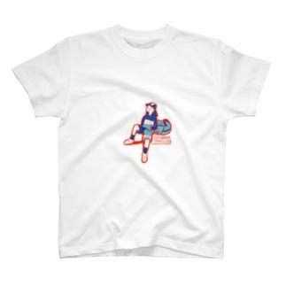 タケウマデザインのoutdoor T-shirts