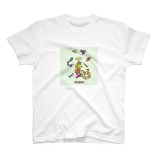 ココシバ×Sonopuro-Nopuro T-shirts