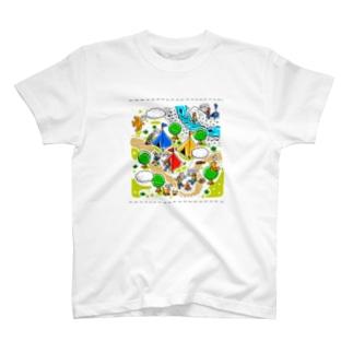 春夏秋冬「夏」 T-shirts