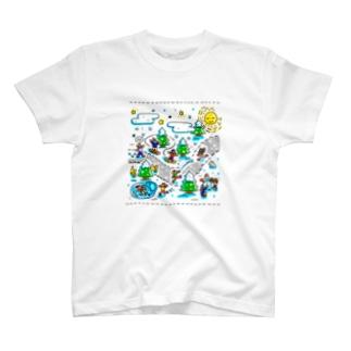 春夏秋冬「冬」 T-shirts