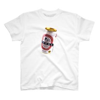 豆鳩缶ビール T-shirts